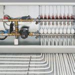 Арматура для поддержания температуры в системах напольного отопления.