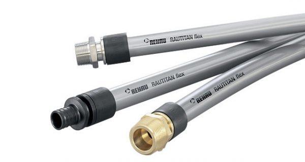 Универсальная труба Rautitan flex d16