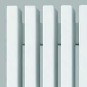 Трубчатый дизайн радиатор GREY V H750 4 секции