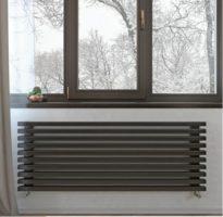 Трубчатый дизайн радиатор LOTEN GREY Z H 180 4 секции L750
