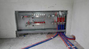 Коллектор радиаторного отопления Oventrop